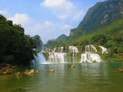 Bang Gioc waterfall