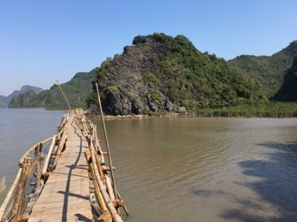 On the way to Halong