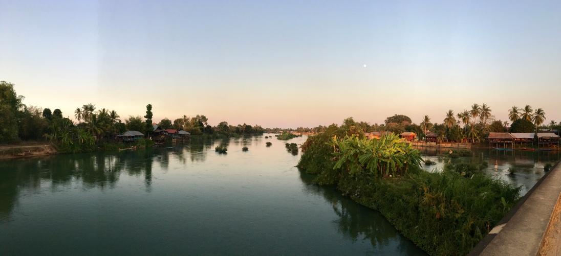 Mekong from the bridge