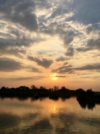 Sunset on the sunset side of Don Det