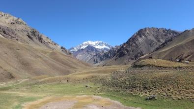 Aconcagua, seen from Park entrance